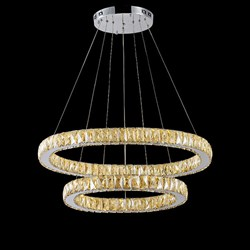 Люстра Fabrizia Diamond Double 100/60 by GLCrystal