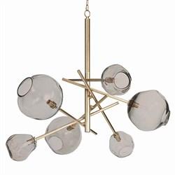Molten Chandelier Brass by Regina Andrew