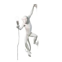 Monkey Lamp White Wall Right Светильник Настенный
