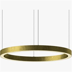 Luminous Horizontal Ring D100 Brass