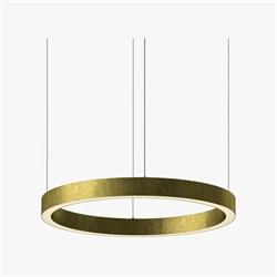 Luminous Horizontal Ring D70 Brass