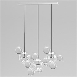 Светильник Bolle Linear 14 Bubbles Nickel by Giapato & Coombes