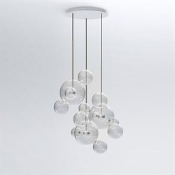 Светильник Bolle Circular 14 Bubbles Nickel by Giapato & Coombes