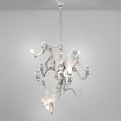 Monkey Lamps Trio White Люстра Подвесная