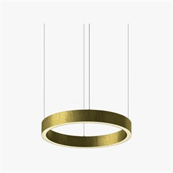 Luminous Horizontal Ring D50 Brass