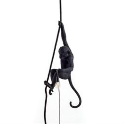 Monkey Lamp Black Left Светильник Подвесной