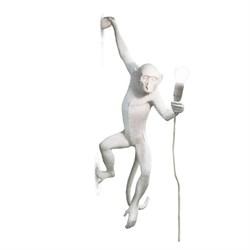 Monkey Lamp White Wall Left Светильник Настенный