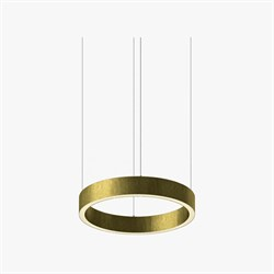 Luminous Horizontal Ring D40 Brass