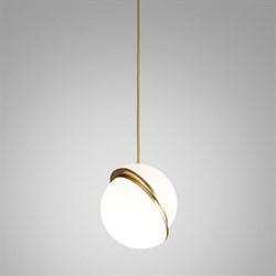 Crescent Light by Lee Broоm D30 Gold