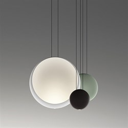 Vibia Cosmos 2511 Green by Lievore Altherr Molina