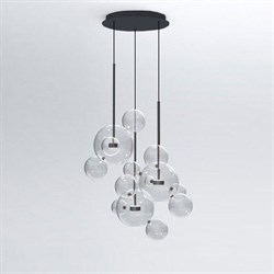 Светильник Bolle Circular 14 Bubbles Black by Giapato & Coombes