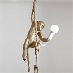 Monkey Lamp Gold Left Светильник Подвесной