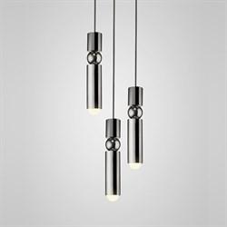 Люстра Fulcrum Light 3 lamps by Lee Broоm Chrome