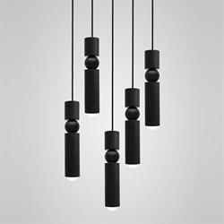 Люстра Fulcrum Light 5 lamps by Lee Broоm Black