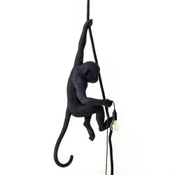 Monkey Lamp Black Right Светильник Подвесной