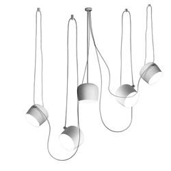 Светильник подвесной Flos Aim 5 White by Ronan & Erwan Bouroullec