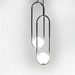 Подвесной светильник Mila Double Nickel D15 by Matthew McCormick