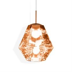 Светильник Cut Tall Pendant Copper by Tom Dixon