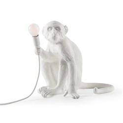 Monkey Table Lamp White Лампа Настольная