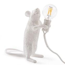 Seletti Big Mouse Lamp #1 H25 Настольная Лампа Мышь