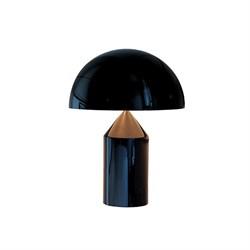 Настольная лампа Atollo Black D38 by Oluce