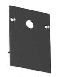 Заглушка для накладного/подвесного шинопровода C48
