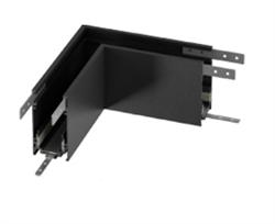Угловой соединитель для накладного/подвесного шинопровода C48, Черный