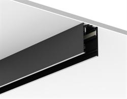 Магнитный шинопровод накладной/подвесной C48 L2000 W48 H75 mm, Черный