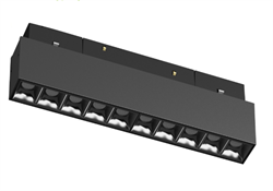 Светильник светодиодный Magnetic-С48 20W Черный корпус ,  4000К, 100lm/w , CRI > 95, L276х35mm