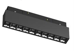 Светильник светодиодный Magnetic-С48 20W Черный корпус , 3000К, 100lm/w , CRI > 95, L276х35mm