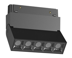 Светильник светодиодный Magnetic-C48  10W Черный корпус , 3000К, 100lm/w , CRI > 95,136х35х130mm