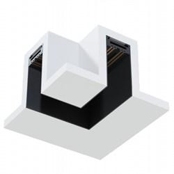 Угловое соединение потолок-потолок MAGNETIC С39 в профиле для ГКЛ черный