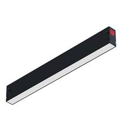 Светильник светодиодный линейный магнитной трековой системы С39 30W 3000K, Black L600x34x58mm