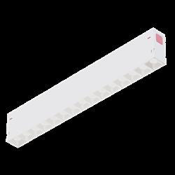 Светильник светодиодный линейный магнитной трековой системы С39 SMART DIM 30W 15х2W OSRAM CRI90 4000K, White L402x34x58mm
