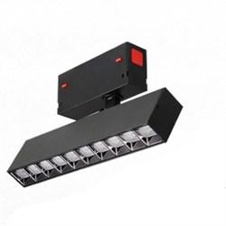 Светильник светодиодный spot магнитной трековой системы С39 SMART DIM 16W CREE CRI90 TRIX 3000-6000K, Black L270х34х150mm