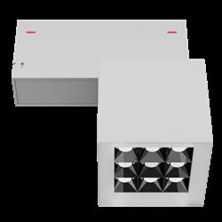Светильник светодиодный магнитной трековой системы С39 X-SPOT 18W 9x2W OSRAM CRI90 3000K, White 81х81x81mm