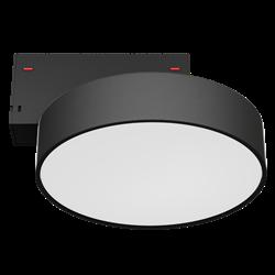 Светильник светодиодный магнитной трековой системы С39 RONDO 16W CRI85 4000K, Black ?175