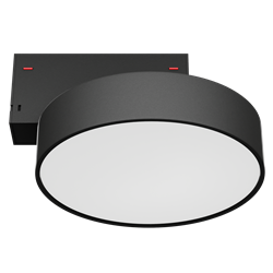 Светильник светодиодный магнитной трековой системы С39 RONDO 16W CRI85 3000K, Black ?175
