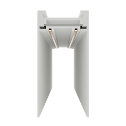 Магнитный шинопровод магнитный С25 220V L2000 W30х57мм, белый
