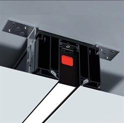 Трековая система  магнитный С25 2000mm в профиле для натяжных потолков LUMFER