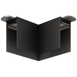 Угловой соединитель потолок-потолок С25 SMART DIM 220V, Черный 85х85mm