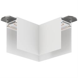 Угловой соединитель потолок-потолок С25 SMART DIM 220V, Белый 85х85mm