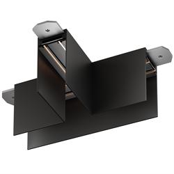Т соединитель потолок-потолок С25 SMART DIM 220V, Черный 140х55mm