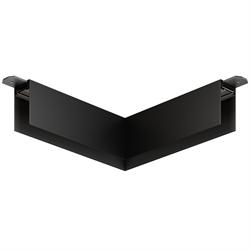 Угловой соединитель потолок-потолок С25 SMART DIM 220V, Черный 200х200mm