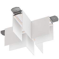 Х соединитель потолок-потолок С25 SMART DIM 220V, Белый 110х110mm