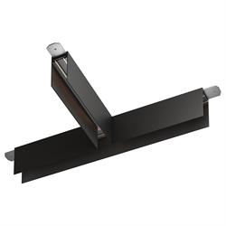 Т соединитель потолок-потолок С25 SMART DIM 220V, Черный 370х170mm