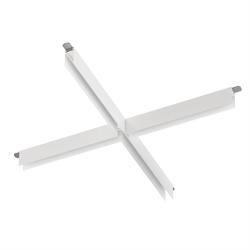 Х соединитель потолок-потолок С25 SMART DIM 220V, Белый 340х340mm
