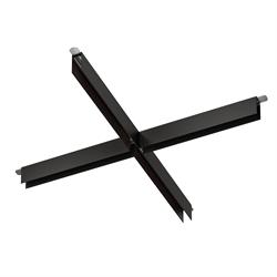 Х соединитель потолок-потолок С25 SMART DIM 220V, Черный 740х740mm