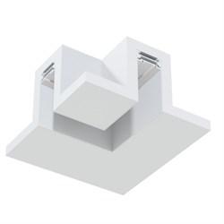 Угловое соединение потолок-потолок MAGNETIC С25 в профиле для ГКЛ белый