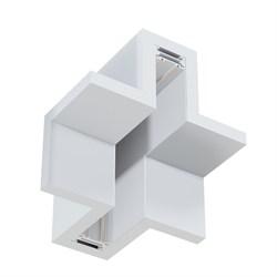 Угловое соединение потолок-стена MAGNETIC С25 в профиле для ГКЛ белый